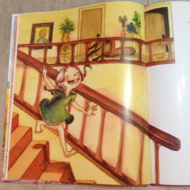 Ilustração do livro Pollyana