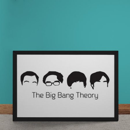 quadro-decorativo-the-big-bang-theory-minimalista